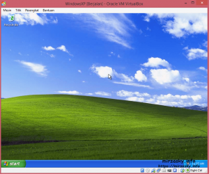Windows XP pada Virtual Box