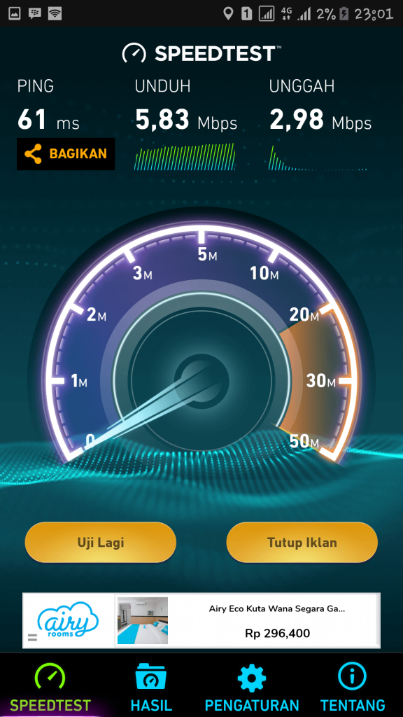 Review Paket Internet Unlimited Tri 2017